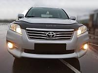 Мухобойка +на капот  TOYOTA Rav-4 с 2009-2013 г.в. (Тойота Рав 4) Vip Tuning