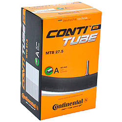 "Камера Continental MTB 27.5"" B+ A40, 57-584 -> 70-584, A4, 420 г"