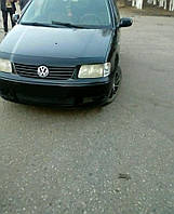 Мухобойка +на капот  VW Polo 3 с 1999 – 2001 г.в.(после ресталинга) (Фольксваген Поло) Vip Tuning