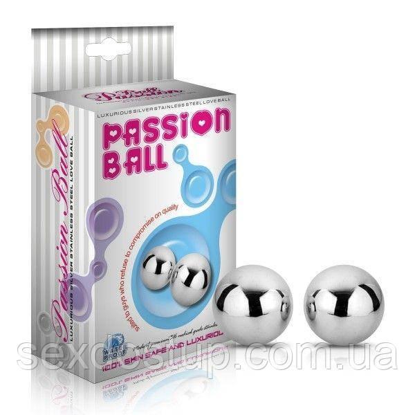 Металлические вагинальные шарики Passion Dual Balls