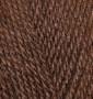 Пряжа для вязания Бургум классик ALIZE каштановый 493