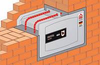 Установка, монтаж встраиваемого сейфа в стену, пол, (куда угодно)