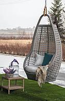 Подвесное Кресло Кокон из ротанга «Савана» (искусственный ротанг)