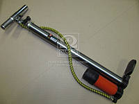 Насос ручной с ресивером и манометром 38x500mm   , ZG-0013A