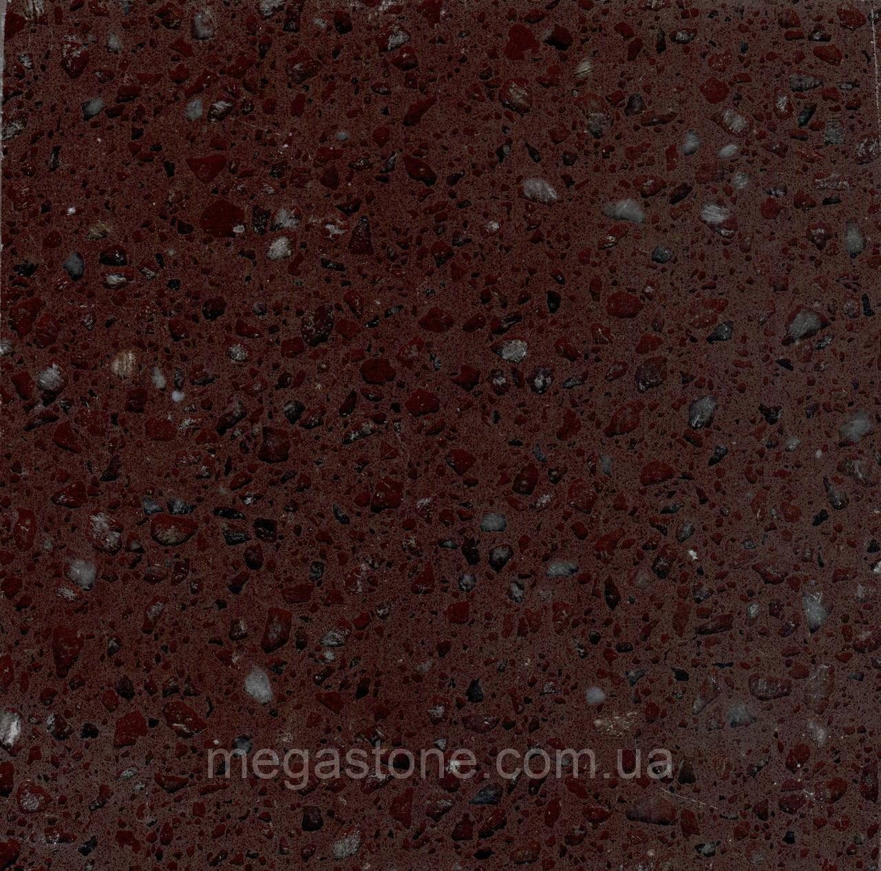 Штучний кварцовий камінь Brown  0012