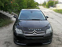 Дефлектор капота Citroën C4 c 2004–2008 г.в. (Ситроен Си4) Vip Tuning