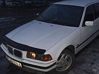 Мухобойка +на капот  BMW 5 серии (34 кузов) с 1988-1996 г.в. (БМВ 5) Vip Tuning