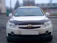 Дефлектор капота Chevrolet Captiva с 2006-2011 г.в. (Шевроле Каптива) Vip Tuning