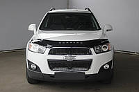 Дефлектор капота Chevrolet Captiva с 2011 г.в. (Шевроле Каптива) Vip Tuning