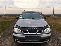Дефлектор капота Chevrolet Lanos  с 2005 г.в. (Шевроле Ланос) Vip Tuning
