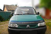 Дефлектор капота Citroen Berlingo с 1996-2002 г.в. (Ситроен Берлинго) Vip Tuning, фото 1