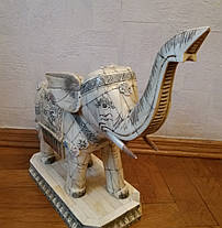 Слон 1-я підлог.ХХ століття слонова кістка, фото 3