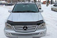 Дефлектор капота Mercedes-Benz M-Klasse (W163) с 1997–2005 г.в. (Мерседес-бенц М класс) Vip Tuning