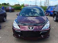 Дефлектор капота Peugeot 307 с 2005-2008 г.в. ресталинг (Пежо 307) Vip Tuning