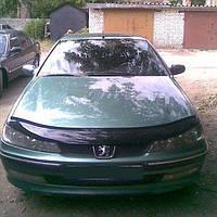 Дефлектор капота Peugeot 406 с 1995-1999 г.в. (Пежо 406) Vip Tuning