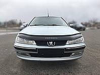 Дефлектор капота Peugeot 406 с 1999 г.в. (Пежо 406) Vip Tuning