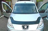 Дефлектор капота Peugeot Partner с 2008 г.в. (Пежо партнер) Vip Tuning