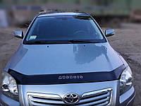 Дефлектор капота TOYOTA Avensis с 2003-2008 г.в. (Тойота Авенсис) Vip Tuning