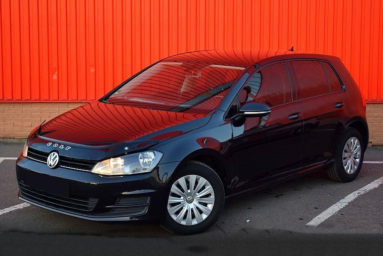 Мухобойка VW Golf-7 с 2012 г.в.. Vip Tuning