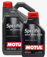 Масло моторное MOTUL SPECIFIC VW 506 01 506 00 503 00 0W-30 5L
