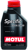 Масло моторное MOTUL SPECIFIC 504 00 507 00 5W-30 1L