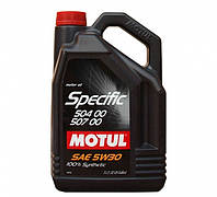 Масло моторное MOTUL SPECIFIC 504 00 507 01 5W-30 5L