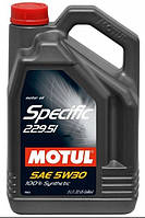 Масло моторное MOTUL SPECIFIC MB 229.51 5W-30 5L