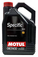 Масло моторное MOTUL SPECIFIC 913D 5W-30 5L