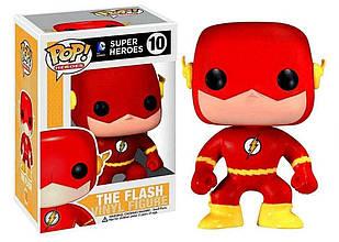 Фігурка Funko Pop Фанко Поп Super Heroes Супер герої The Flash Флеш 10 см SH F 10