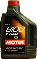 Масло моторное MOTUL 8100 X-clean 5W-40 2L