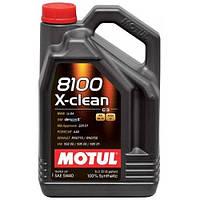Масло моторное MOTUL 8100 X-clean 5W-40 4L