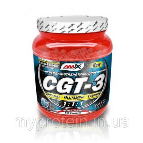 креатин, L-глютамин и таурин CGT-3 (500 caps)
