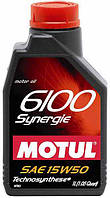 Масло моторное MOTUL 6100 Synergie 15W-50 1L