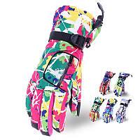 Женские лыжные перчатки Tundra Premium, высококачественные, карманчик для скипасса