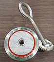 Двухсторонний поисковый магнит РЕДМАГ F200*2, ✓усилие 240кг, ♛доставка и ТРОС в подарок♛, фото 2