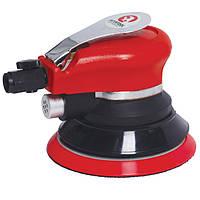Уценка!!! Пневматическая шлифовальная машинка эксцентриковая Intertool PT-1006 (125 мм)