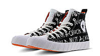 "Кеды Converse Chuck Taylor All-Star 70s Hi Unt1tl3d ""Not a Chuck"" Black"