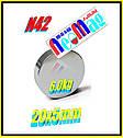 Польський неодимовий магніт 20мм*5мм, 6кг, N42, фото 3