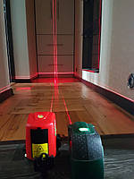 Лазерный уровень/нивелир AcuAngle A8826D,[AK 435]😎♦ЧЕХОЛ✚Батарейки♦