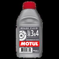 Тормозная жидкость MOTUL DOT 3 & 4 Brake Fluid  0,5 л
