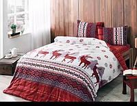 Семейное постельное белье фланель