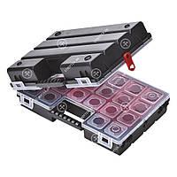 Ящик-органайзер пластиковый с регулируемыми секциями 36 отделений Haisser А 400/В 400 Twin