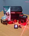 Лазерний 3D рівень Deko HV-LL12 (лазерний рівень), 2 li-ion батареї+ВІДКАЛІБРОВАНИЙ ІДЕАЛЬНО, фото 2