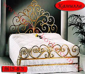 """Кровать кованая двуспальная """"Камилла"""""""