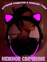 Bluetooth 4.0!!! Розовые наушники с кошачьими ушками. ЛУЧШИЙ ПОДАРОК ДЕВОЧКЕ!