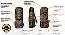 Рюкзак для металлоискателя и лопаты «ЛЕС» - Oxford 600d, фото 6
