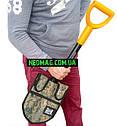 Чохол для лопати Fiskars+ сумка для знахідок 2 в 1, фото 3