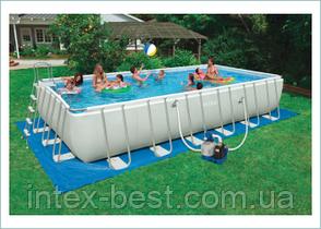 Intex 28352 (54982) - каркасный бассейн Ultra Frame 549x274x132 см, фото 2