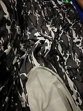 Двунитка Трикотаж Принт (Футер) Камуфляж