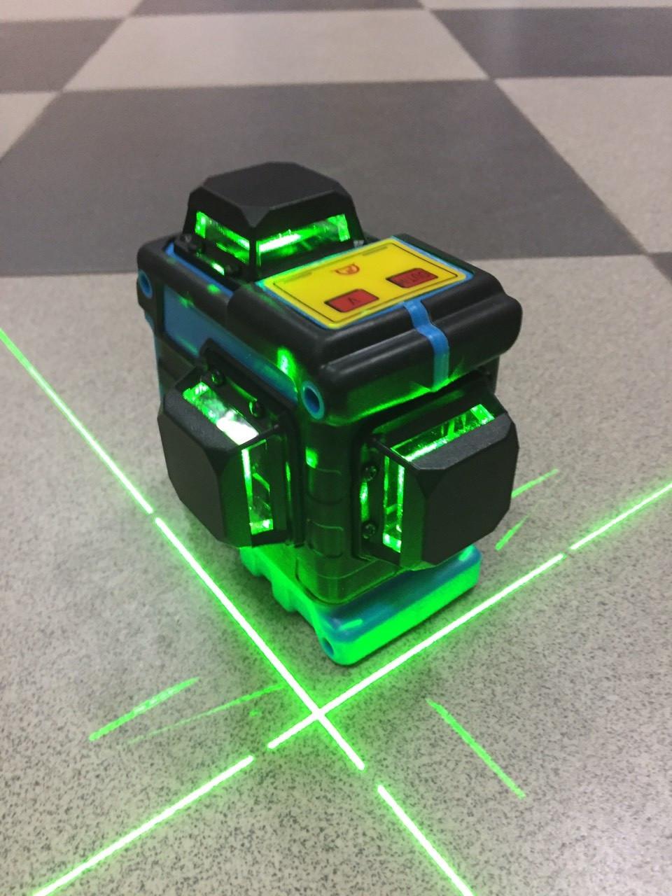 ☀ N E W ☀GREEN⇒50м☀Профессиональный лазерный уровень XEAST 3D ➤очень яркие диоды➤